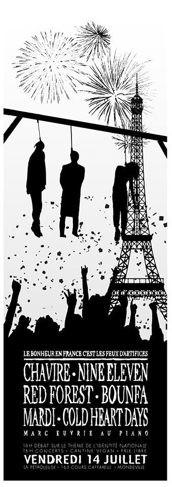 [ven. 14/07] Festival Le bonheur en France c'est les feux d'artifice